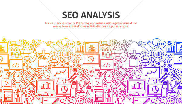 Stock photo: SEO Analysis Concept