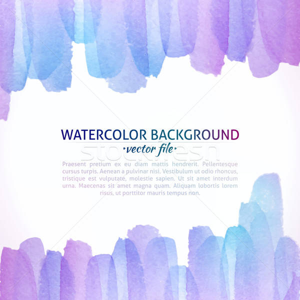 Stockfoto: Aquarel · vector · kleurrijk · abstract · banner · web · design