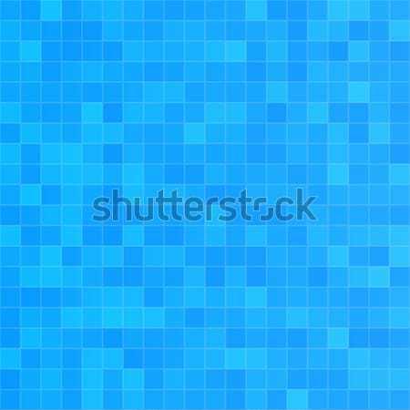 Squared blue seamless pattern Stock photo © Anna_leni