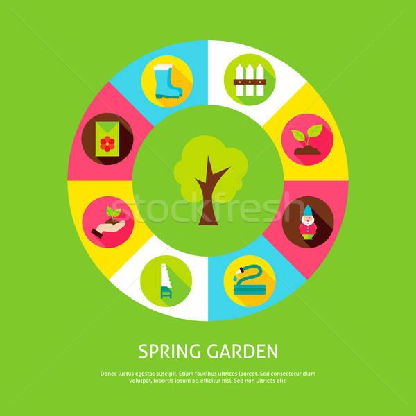 Spring Garden Concept Stock photo © Anna_leni