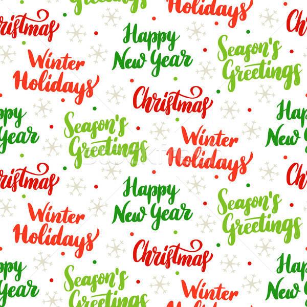 Сток-фото: Рождества · праздник · сезонный · с · Новым · годом · аннотация