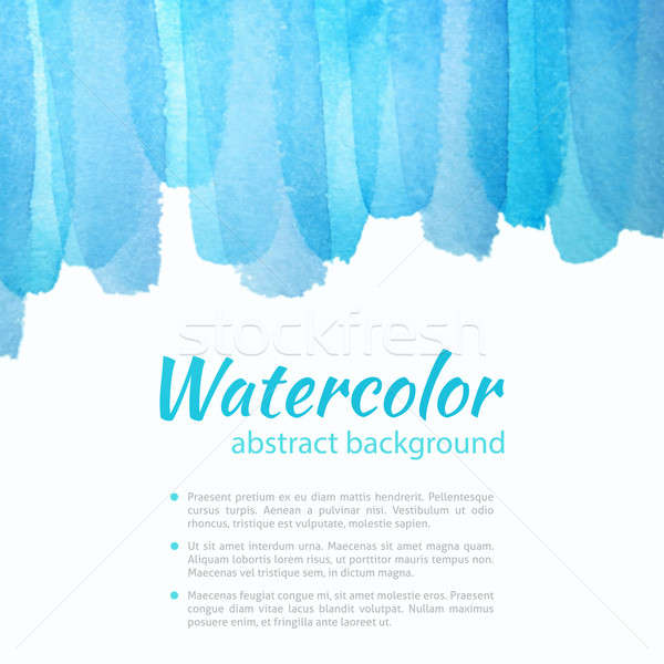 Watercolor Blue and Purple Background Stock photo © Anna_leni