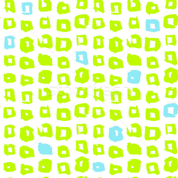 Funky Square Seamless Pattern Stock photo © Anna_leni