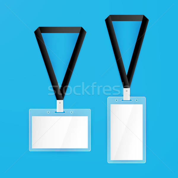 Name Tags Blank Mockup Stock photo © Anna_leni