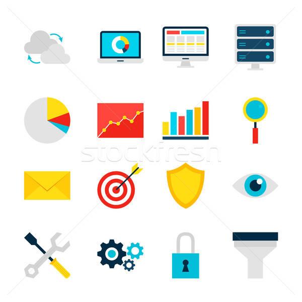 Business Analytics Objects Stock photo © Anna_leni