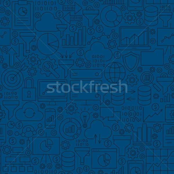 Photo stock: Données · filtrer · ligne · carrelage · modèle
