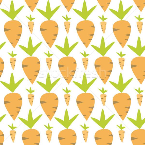 Eastern carrots seamless texture Stock photo © Anna_leni
