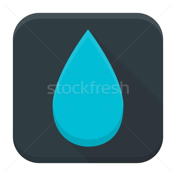 Tear app icon with long shadow Stock photo © Anna_leni