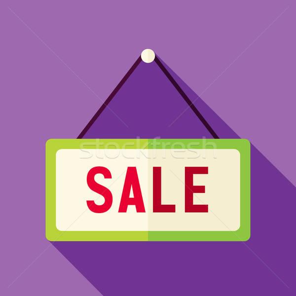 Vector diseno compras venta signo icono Foto stock © Anna_leni