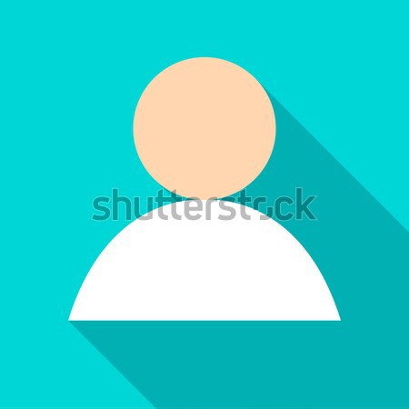 Anonymous User Flat Icon Stock photo © Anna_leni