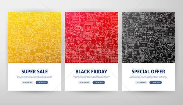 Black Friday Flyer Concepts Stock photo © Anna_leni