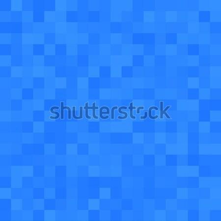 Squared blue seamless background Stock photo © Anna_leni