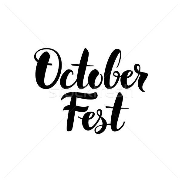 October Fest Card Stock photo © Anna_leni