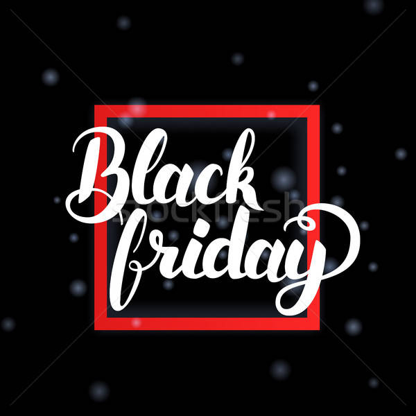 Black Friday in Frame Stock photo © Anna_leni