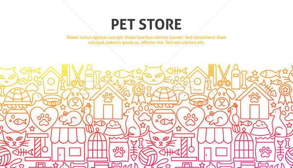 Pet Store Concept Stock photo © Anna_leni