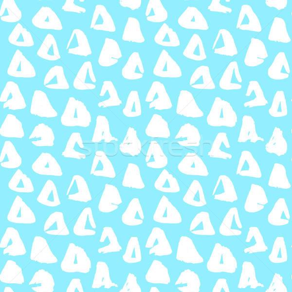 Triangolo 80s stile piastrelle Foto d'archivio © Anna_leni