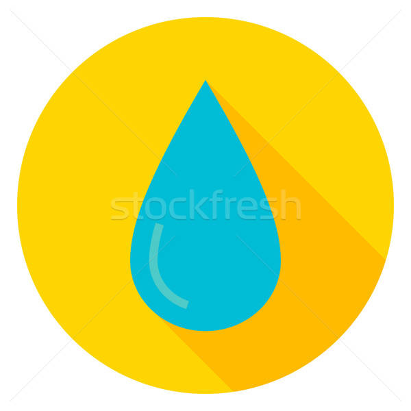 Water Drop Circle Icon Stock photo © Anna_leni