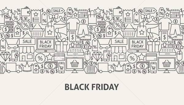 Black Friday Banner Concept Stock photo © Anna_leni