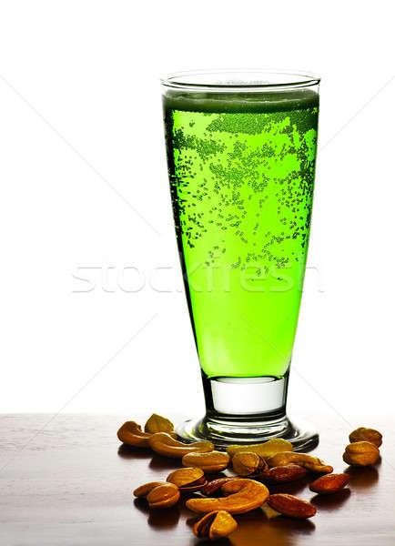 Irlandés verde cerveza tradicional alcohol día Foto stock © Anna_Om