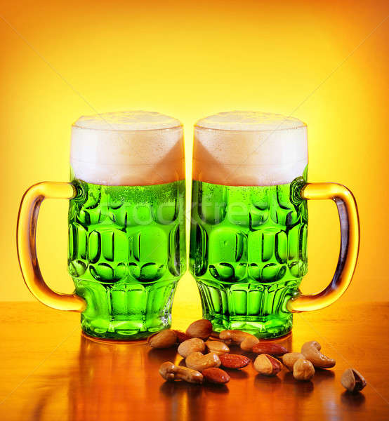 Stockfoto: Ierse · groene · bier · traditioneel · alcohol · dag