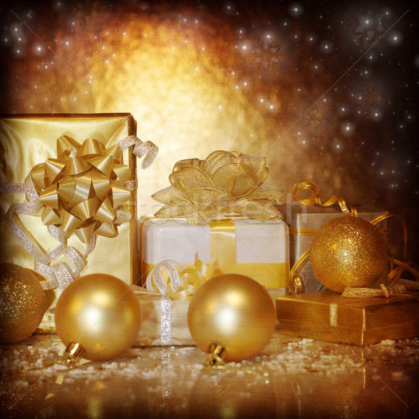 New Year gifts Stock photo © Anna_Om