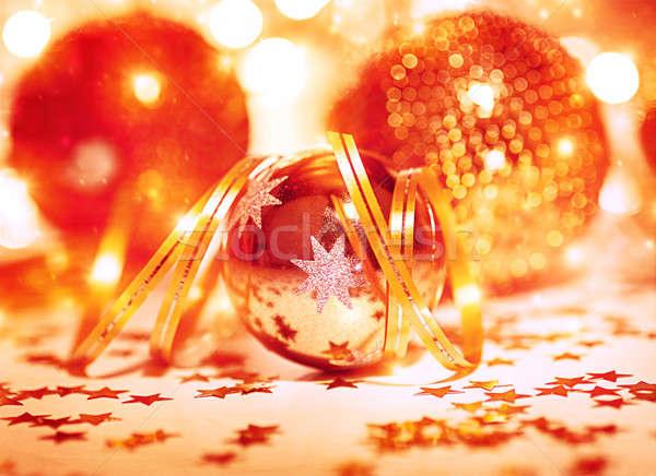 Festive Christmas still life Stock photo © Anna_Om