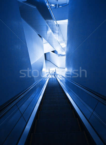 Modern escalator Stock photo © Anna_Om