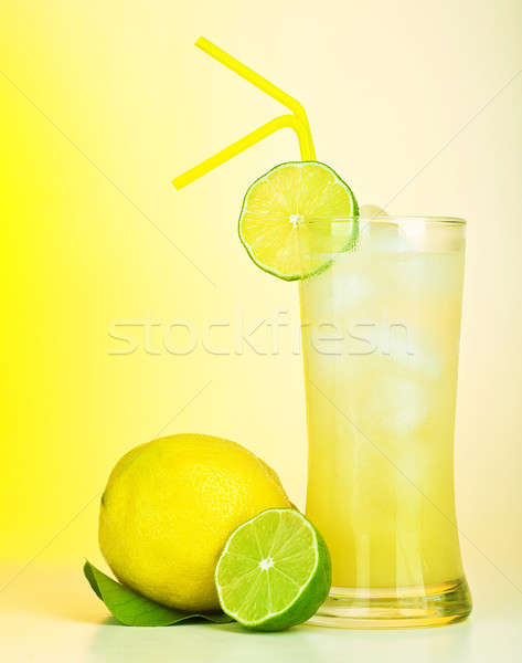Fresh lemon juice Stock photo © Anna_Om