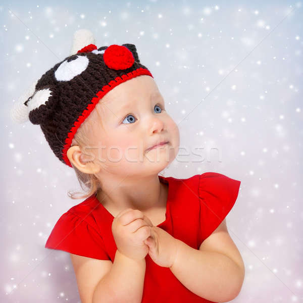 Cute little girl portrait Stock photo © Anna_Om