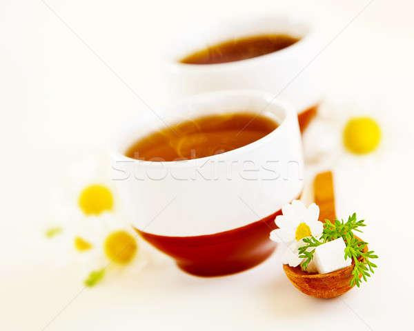Chamomile tea Stock photo © Anna_Om
