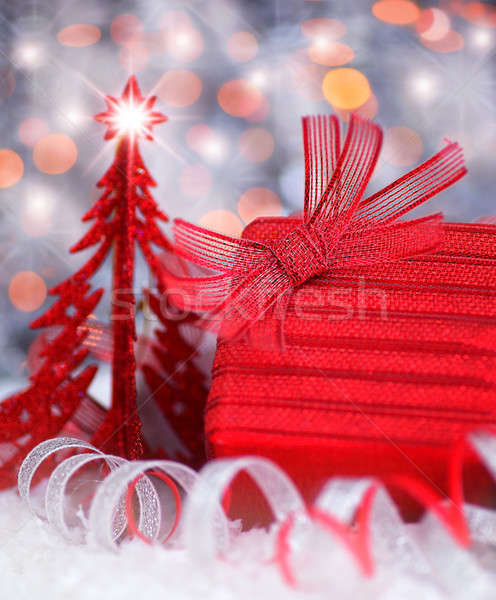 Christmas gift Stock photo © Anna_Om