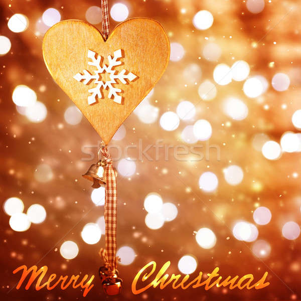 Christmastime greeting card Stock photo © Anna_Om