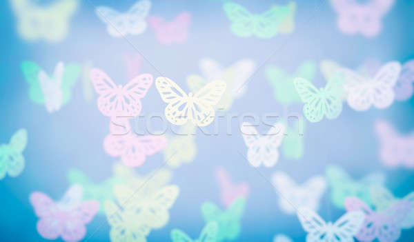 Abstract butterfly background Stock photo © Anna_Om