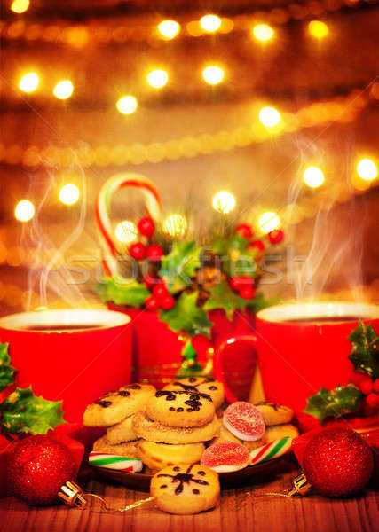 Christmas sweets Stock photo © Anna_Om