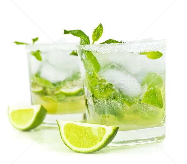 Cold mojito drink Stock photo © Anna_Om
