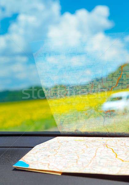 Europe road trip Stock photo © Anna_Om