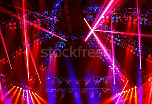 Night club lights Stock photo © Anna_Om