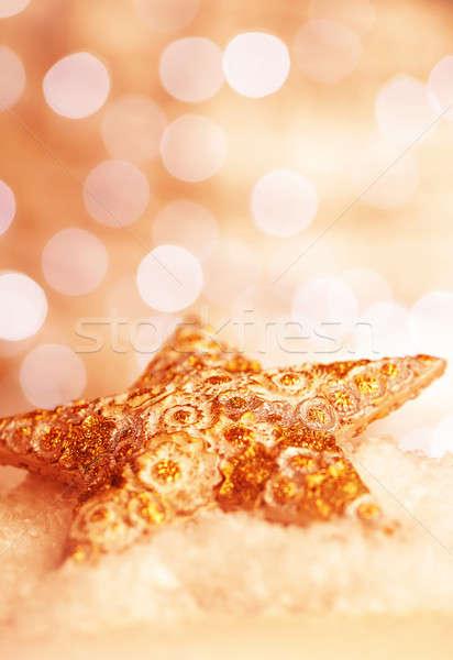 Beautiful star decoration Stock photo © Anna_Om