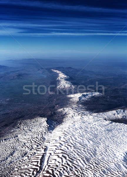 Belo montanha alcance surpreendente panorâmico Foto stock © Anna_Om