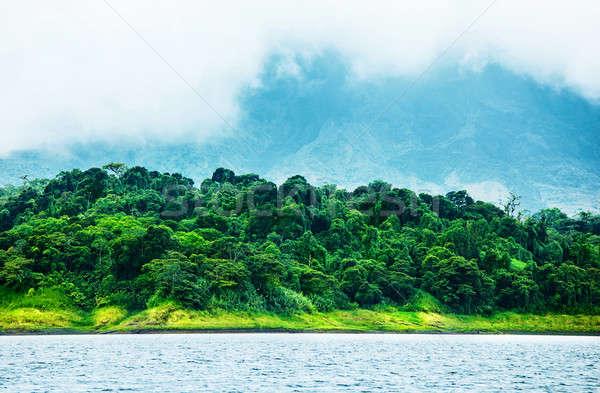 Gyönyörű tájkép kép Costa Rica természet központi Stock fotó © Anna_Om