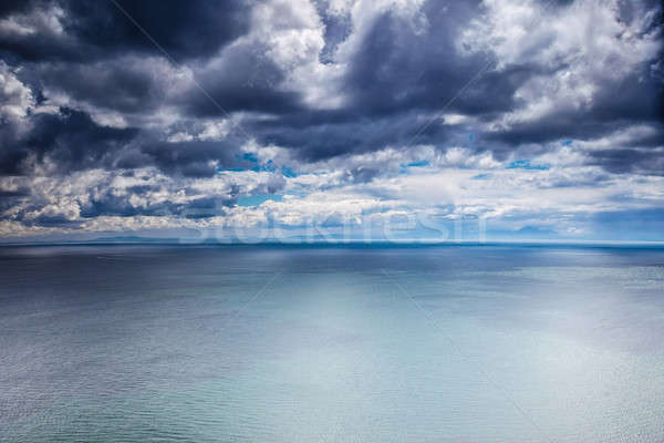 Overcast weather over sea Stock photo © Anna_Om