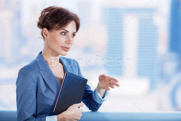 Stock photo: Confident business woman