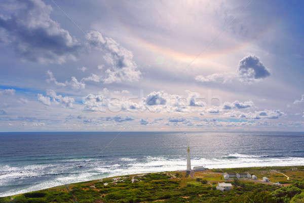 Südafrika Landschaft Leuchtfeuer gut Hoffnung berühmt Stock foto © Anna_Om