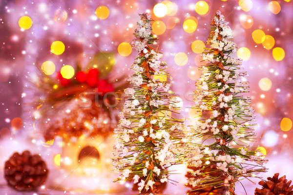 Fairytale Christmas Stock photo © Anna_Om