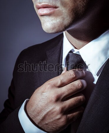 Stylish mens suit Stock photo © Anna_Om
