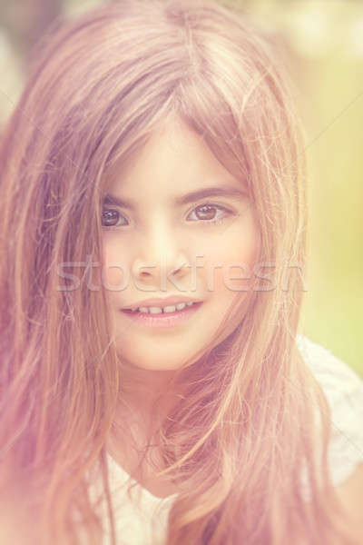 Beautiful little girl Stock photo © Anna_Om