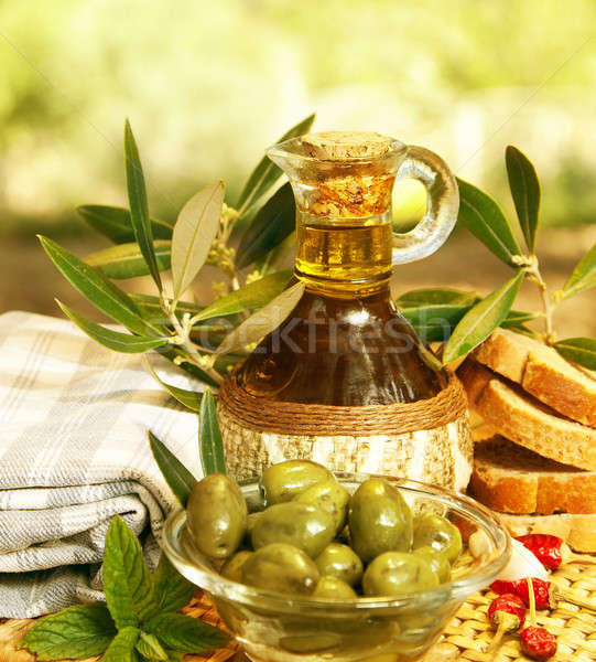 Olive oil Stock photo © Anna_Om