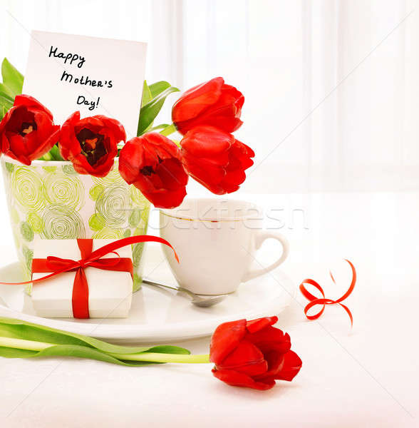 Happy mothers day Stock photo © Anna_Om