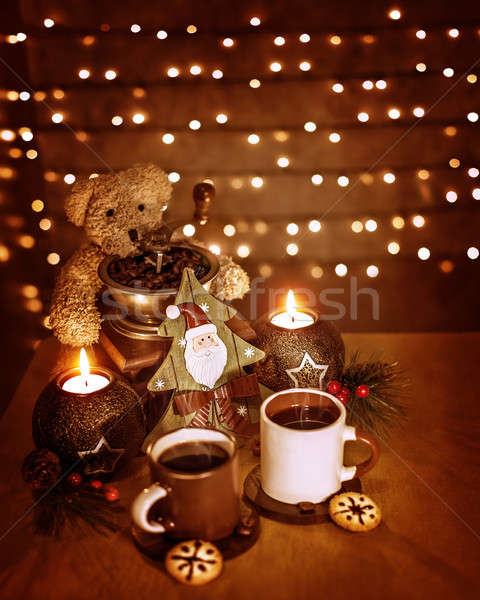 Christmastime decoration Stock photo © Anna_Om