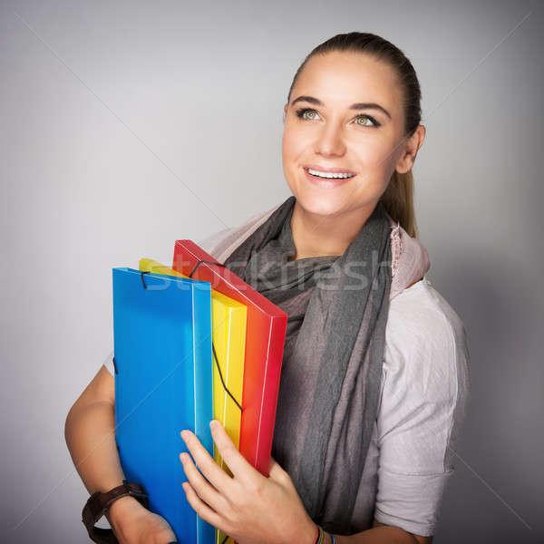 Student girl portrait Stock photo © Anna_Om